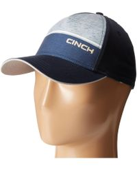 Cinch - Snapback Embroidery Cap - Lyst 87986da6cf1
