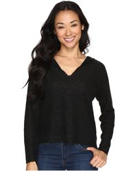 Culture Phit - Maryssa Long Sleeve Sweater With Hoodie - Lyst