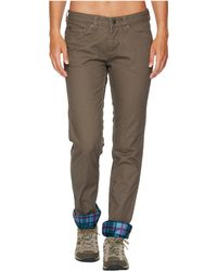 Mountain Khakis - Camber 106 Lined Pants Classic Fit (slate) Women's Casual Pants - Lyst