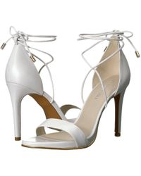 Kenneth Cole - Berry (white Leather) Women's Shoes - Lyst