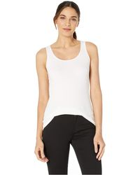 f0f1335566070b Michael Stars - Chelsea Ultra Rib Slim Scoop Neck Tank (heather Grey)  Women s Clothing