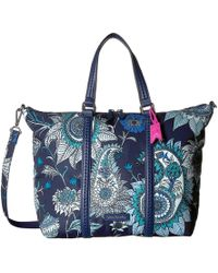 c61bcfbe9 Vera Bradley Midtown Small Tote in Red - Save 21% - Lyst
