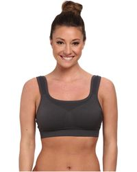 Jockey Active - Hi-impact Seamless Sports Bra (iron Grey) Women's Bra - Lyst