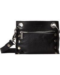 Hammitt - Tony (black/brushed Silver) Cross Body Handbags - Lyst