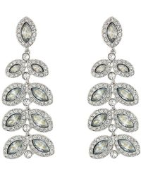 Swarovski - Baron Pierced Earrings (blue) Earring - Lyst