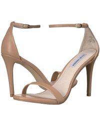 Steve Madden - Stecy Stiletto Sandal (natural) High Heels - Lyst