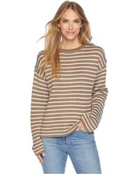 b0fbe98bac Carve Designs - Whitcomb Sweater (walnut Mariner) Women s Sweater - Lyst