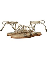 c6481fe915c6 Sigerson Morrison - James (platino Nappa Luxe) Women s Sandals - Lyst
