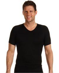 Spanx - Zoned Performance V-neck (black) Men's Underwear - Lyst