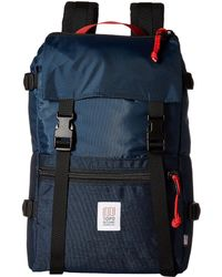 Topo Designs - Rover Pack (ballistic Black) Backpack Bags - Lyst