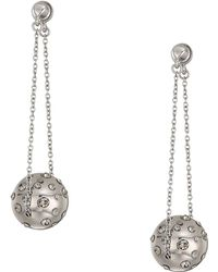 House of Harlow 1960 - Mod Dangle Earrings (silver) Earring - Lyst