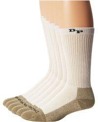 Dan Post - Work & Outdoor Socks Mid Calf Mediumweight Steel Toe 6 Pack - Lyst
