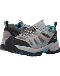 Propet - Ridge Walker Low (grey Purple) Women's Lace Up Casual Shoes - Lyst
