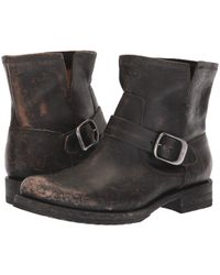Frye - Veronica Bootie (stone Washed Oiled Vintage) Women's Boots - Lyst