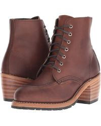 Red Wing - Clara (amber Harness) Women's Lace-up Boots - Lyst
