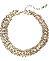 Steve Madden - Tiered Necklace (gold) Necklace - Lyst