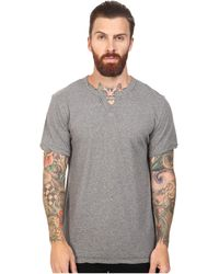 Alternative Apparel - Organic Pima Moroccan (oxford Grey Heather) Men's Clothing - Lyst