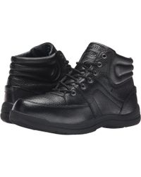 Propet - Four Points Mid Ii Waterproof (black) Men's Lace Up Casual Shoes - Lyst