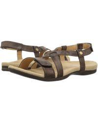 Spenco - Cross Strap (black) Women's Shoes - Lyst