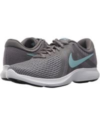 84cffef8acbe7 Nike - Revolution 4 (thunder Blue football Grey ashen Slate) Women s Running