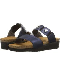 9ff638ed7f57 Naot - Michele (polar Sea Leather) Women s Sandals - Lyst