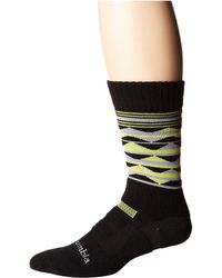 Columbia - Triangles Hike Crew With Blister Protection 1-pack (black) Crew Cut Socks Shoes - Lyst
