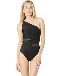 Miraclesuit - Network Jena One-piece (black) Women's Swimsuits One Piece - Lyst