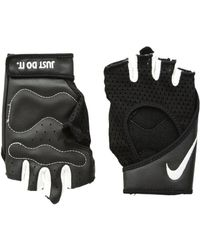 Nike - Pro Perf Wrap Training Gloves (black/white/white) Cycling Gloves - Lyst