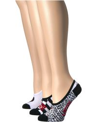 Vans - Diy Checkerboard Canoodle 3-pack (multi) Women's No Show Socks Shoes - Lyst