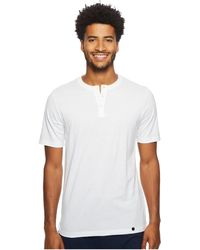 Hanro - Night Day Short Sleeve Henley Shirt (white) Men's Pajama - Lyst