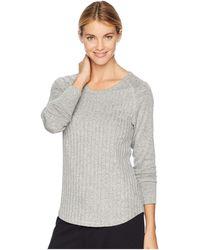 Felina - Charlize Baseball Shirt (grey) Women's Pajama - Lyst