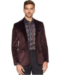 Robert Graham - Barton Sports Coat (merlot) Men's Coat - Lyst
