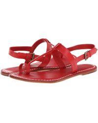 Bernardo - Maverick (navy Antique Calf) Women's Sandals - Lyst