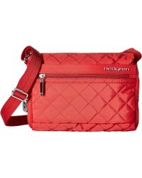Hedgren - Diamond Carina Shoulder Bag (red) Shoulder Handbags - Lyst