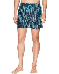 Vilebrequin - Moorea Poisson Swim Trunk (azure) Men's Swimwear - Lyst