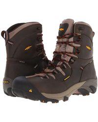 32cb226d736ac Keen Utility - Detroit 8 (black Olive) Men s Work Lace-up Boots -