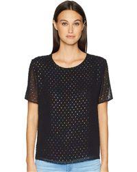 Paul Smith - Sparkle Dot Top (black) Women's Blouse - Lyst