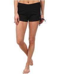 Stonewear Designs - Hot Yoga Shorts (black) Women's Shorts - Lyst