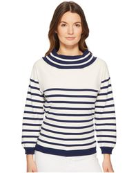 Fuzzi - Stripe Sweater - Lyst