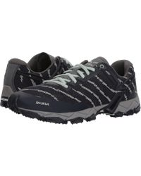 Salewa - Lite Train (premium Navy/subtle Green) Women's Shoes - Lyst