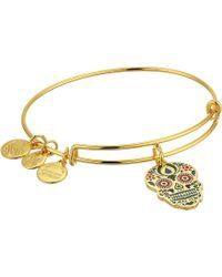 ALEX AND ANI - Color Infusion Calavera Bangle - Lyst