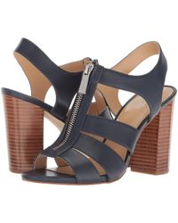 826d29e4752 MICHAEL Michael Kors - Damita Sandal (black Vachetta) Women s Sandals - Lyst
