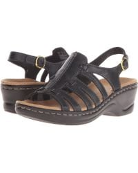 b5fd92bde45 Lyst - Clarks Lexi Marigold Q (pewter Leather) Women s Sandals in Gray