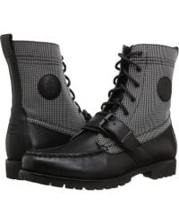 25cfd4ebf7af7 Lyst - Polo Ralph Lauren Delton Lace-up Waterproof Boots in Black ...