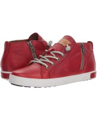 Blackstone - Mid Sneaker (charcoal) Women's Lace Up Casual Shoes - Lyst