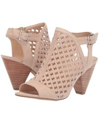 7123bee1692e Lyst - Vince Camuto  krysta  Platform Sandal (women) in Brown