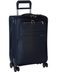 Briggs & Riley - Baseline Domestic Carry-on Expandable Spinner (olive) Carry On Luggage - Lyst