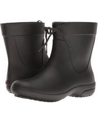 8f719bef991337 Crocs™ - Freesail Shorty Rain Boot (navy) Women s Rain Boots - Lyst