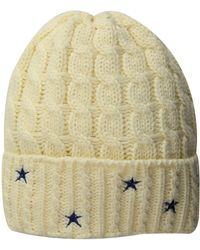 17b60cc81b4 San Diego Hat Company - Knh3588 Cable Knit Beanie With Star Embroidery  (red) Beanies