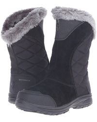 bc86251666fa Columbia - Ice Maidentm Ii Slip (black shale) Women s Cold Weather Boots -